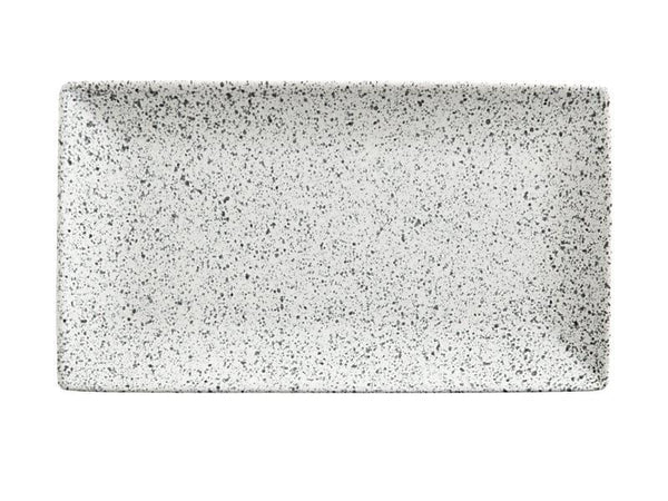Maxwell & Williams Caviar Speckle Rectangle Platter 34.5x19.5cm