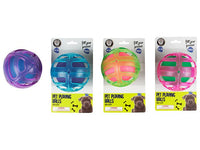 Pet Playing Double Ball - 4 Assorted Colours