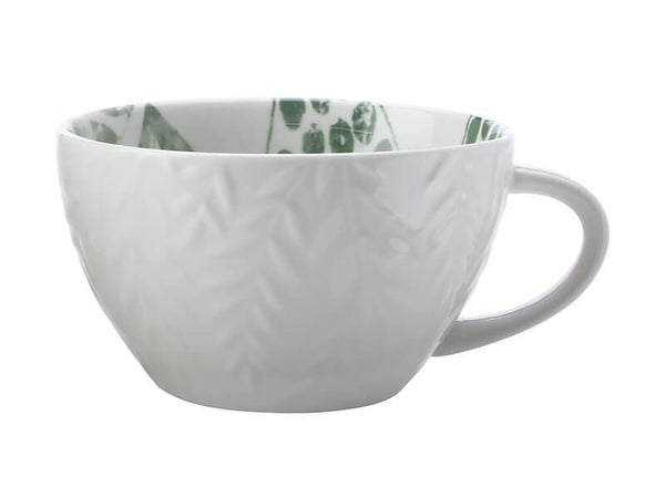 Maxwell & Williams Panama Jumbo Mug 540ml Frond Kiwi