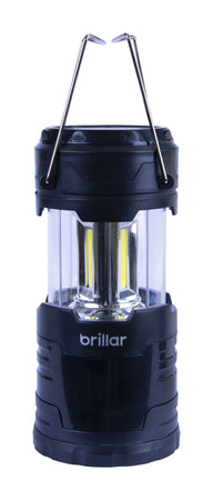 Brillar Regular Pop Up Lantern Cob LED - Black