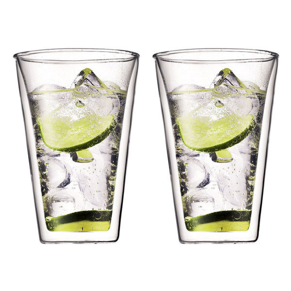 Bodum Canteen 2 Pieces Double Wall Glasses 0.4L