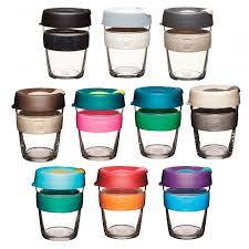 KeepCup Brew Glass Coffee Cup 12oz Medium