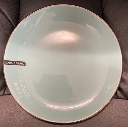 Casa Regalo Louis Side Plate - 20cm - Bluey/Green