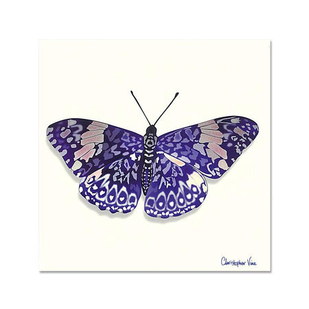 Butterfly - Christopher Vine - Notecard - 10x10cm