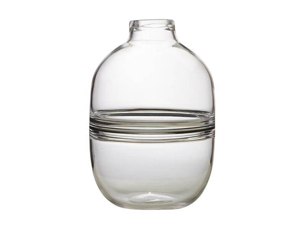 Maxwell & Williams Flourish Orbit Vase 31cm Clear