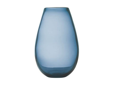 Maxwell & Williams Flourish Taper Vase 21cm Blue