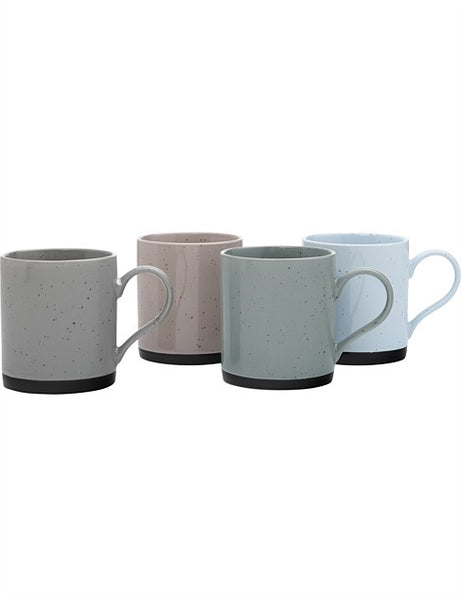 Maxwell & Williams Speckle Mug Set of 4 - 350ml