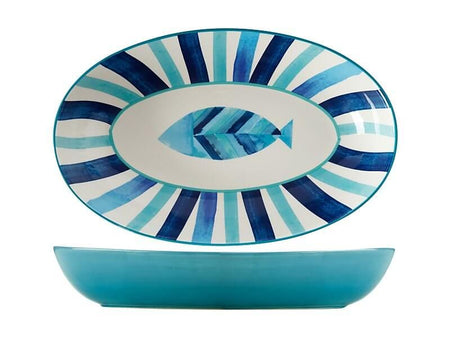 Maxwell & Williams Reef Oval Serving Bowl 42x26cm