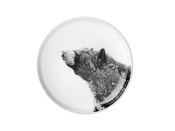 Maxwell & Williams Marini Ferlazzo Plate 20cm Asiatic Black Bear