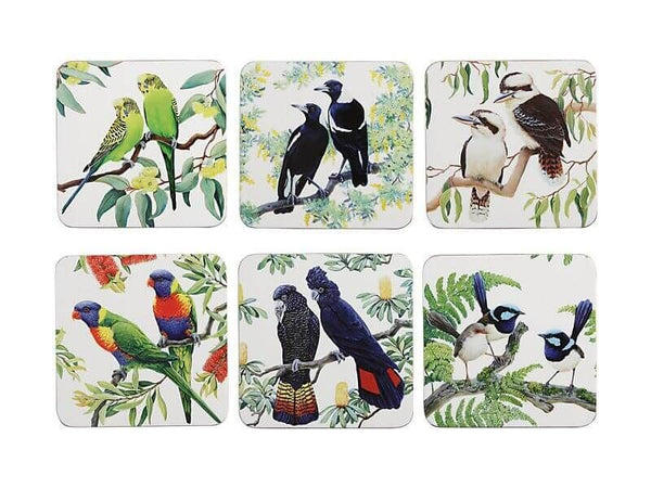 Maxwell & Williams Birdsong Coaster Set of 6 - Assorted