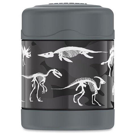 Thermos 290ML Funtainer Stainless Steel Vacuum Food Jar - Dinosaur