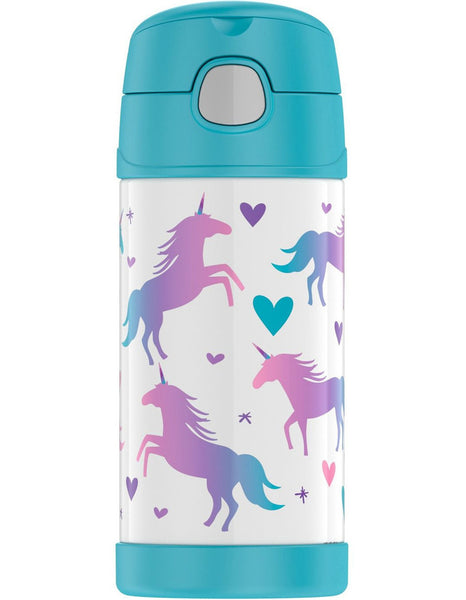 Thermos 355ml Funtainer Drink Bottle - Unicorn
