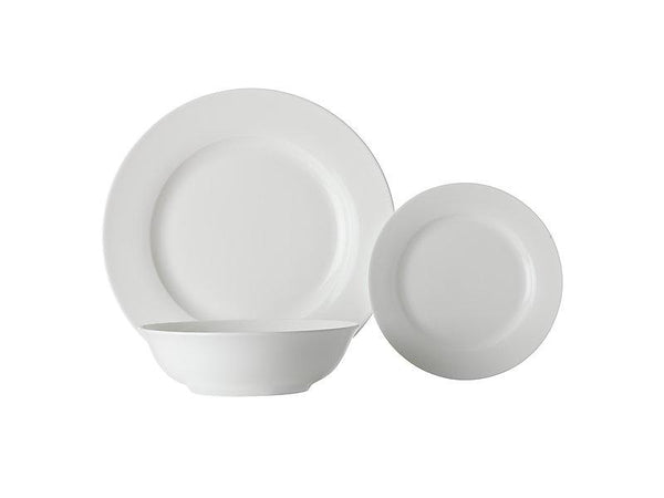 Maxwell & Williams White Basics European Rim Dinner Set 12pc