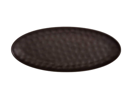 Maxwell & Williams Gravity Oval Platter 50x21cm - Black