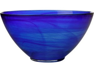 Casa Domani Cirrus Twilight Blue Glaze Deep Bowl 30X16cm