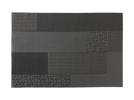 Maxwell & Williams Placemat Block - Black 45x30cm