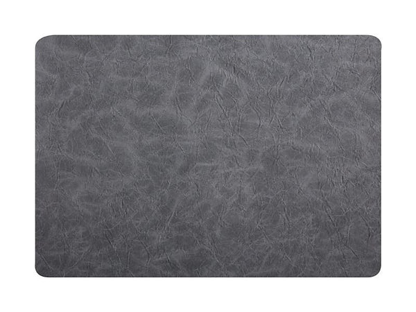 Maxwell & Williams Placemat Leather Look - Grey - 43x30cm