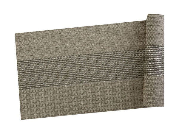 Maxwell & Williams Table Accents Woven Lurex Runner 30x150cm Taupe
