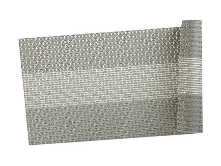 Maxwell & Williams Table Accents Woven Lurex Runner 30x150cm Grey