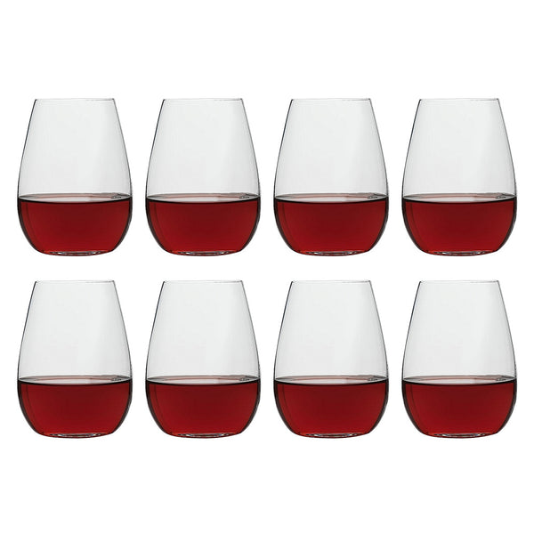 Ecology Otto Stemless Wine Set of 8 - 460ml