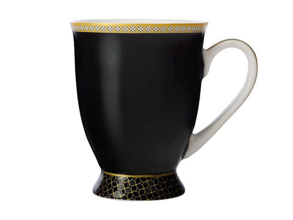 Maxwell & Williams Teas & C's Contessa Classic Footed Mug 300ml - Black