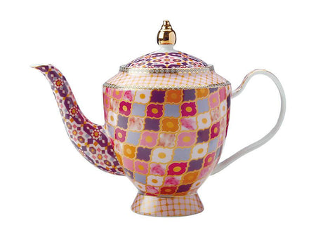 Maxwell & Williams Teas & C's Kasbah Teapot With Infuser 1Lt - Rose Gift Boxed