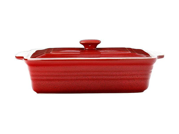 Cucina Rectangular Casserole with Lid 32x24x10cm