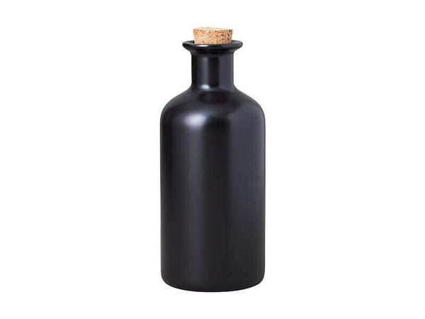 Maxwell & Williams Epicurious Oil Bottle With Cork Lid 500ml - Black