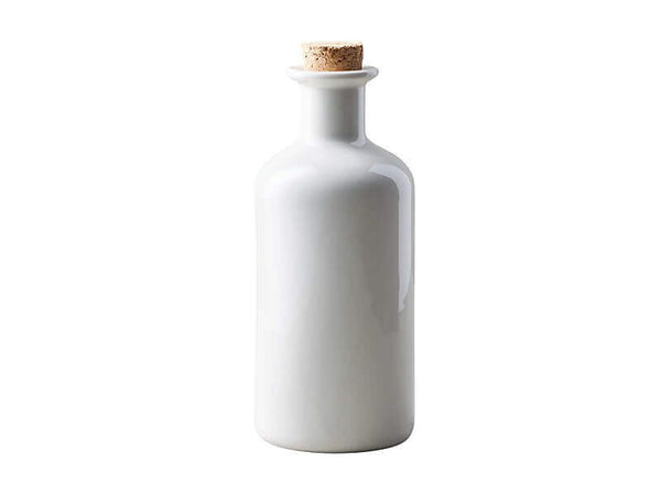 Maxwell & Williams Epicurious Oil Bottle With Cork Lid 500ml - White