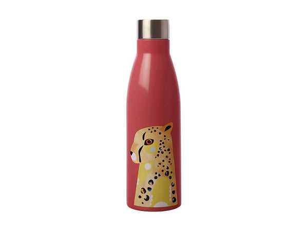 Maxwell & Williams Pete Cromer Wildlife Double Wall Insulated Bottle 500ml - Cheetah