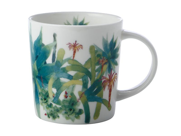 Maxwell & Williams Royal Botanic Garden - Arid Garden Mug 300ml - Agave Gift Boxed
