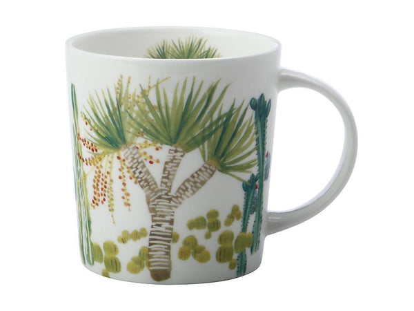 Maxwell & Williams Royal Botanic Garden - Arid Garden Mug 300ml - Dracaena Gift Boxed