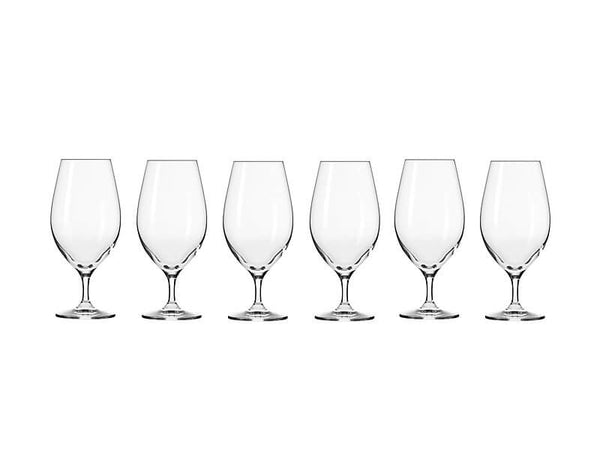 Krosno Harmony Beer Glass 400ml 6pc