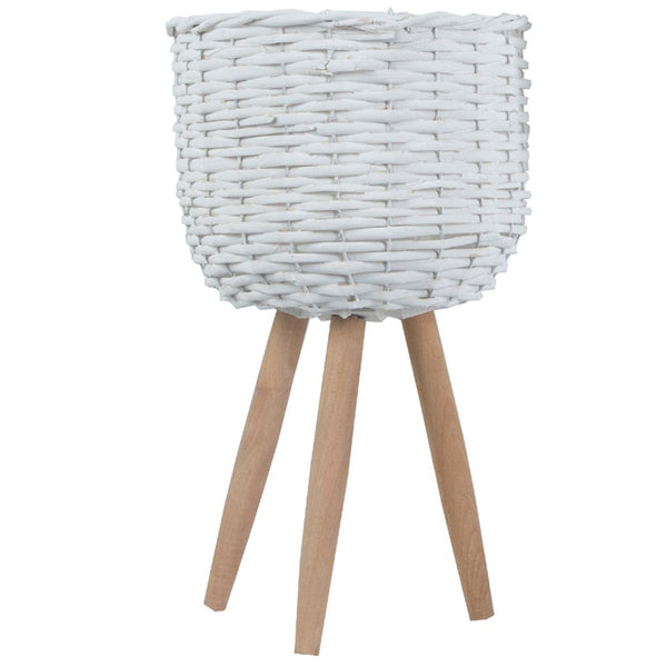 Bota Willow Pot Planter - White - Small