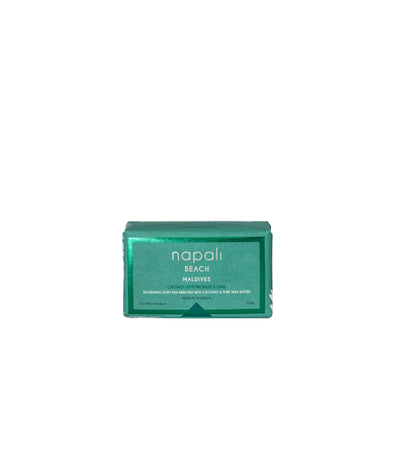 Napali Beach Maldives, Crushed Lemongrass & Lime Soap