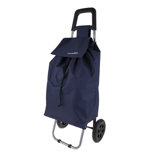 Shop & Go - Clio Shopping Trolley - Navy
