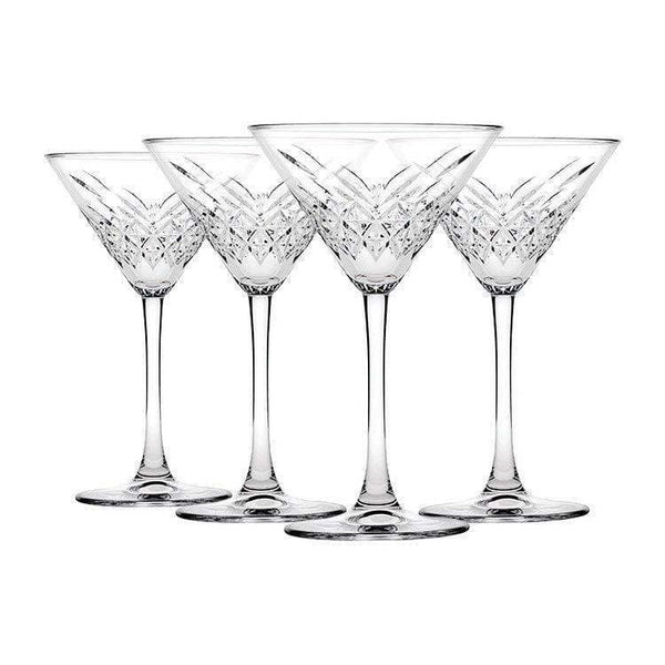 Pasabahce Timeless Martini Glasses Set of 4 -230ml