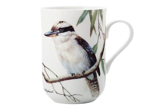 Birds of Australia Eric Shepherd Mug 300ML Kookaburras
