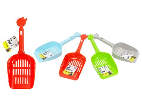 Pet Scoop  26x9x4cm - Assorted Colours
