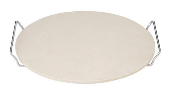 Avanti Pizza Stone With Serving Rack 33cm