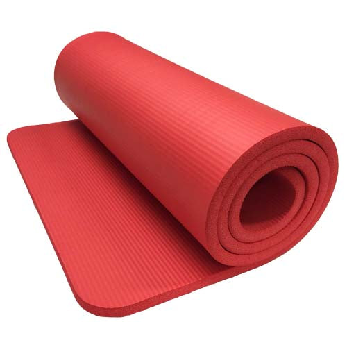 Yoga 4.5mm Mat Standard - Red 60x173cm