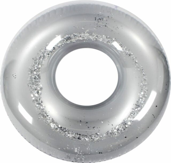 ECD Giant Silver Glitter Pool Float