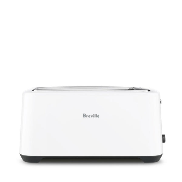 Breville Lift & Lock Plus 4 Slice White Toaster