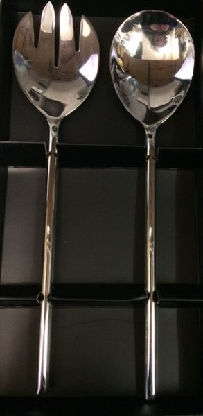 Urban Rod Salad Servers With Wire Finish