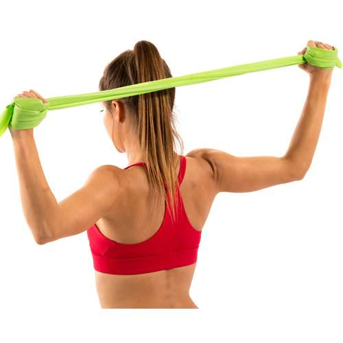 Black Stretch Resistance Band 1.2m - Heavy/X-Heavy