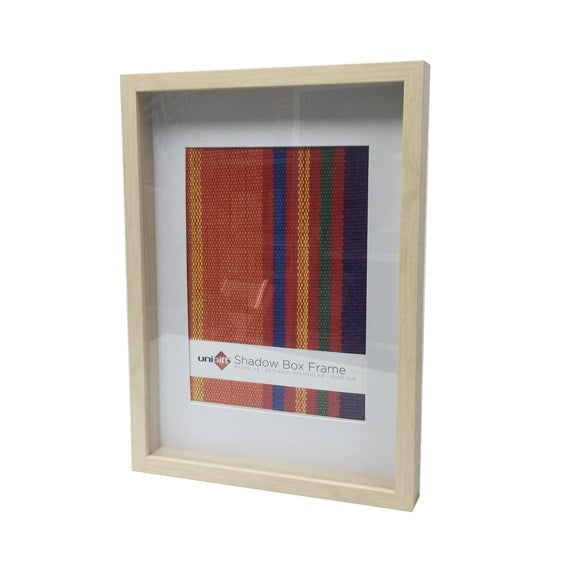 Shadow Box Frame A4 Opening - Natural - 29.7x42cm