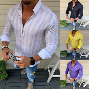 Men's Fashion  Slim Shirt
