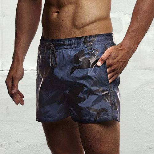 Men's Camouflage Printed Shorts