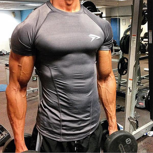 Fitness Fashion Dri-Fit Solid Color Training T-Shirt