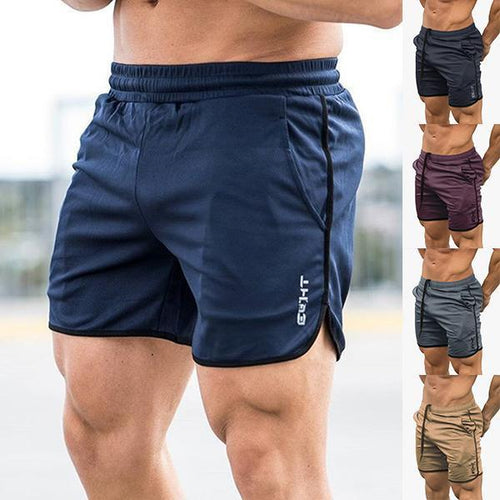 Fitness Fashion Multicolor Fast Drying Training Shorts